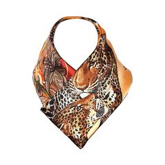 Authentic Hermes Silk Scarf Jungle Love Robert DALLET 90 cm