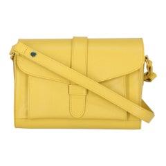 Marni Woman Shoulder bag  Yellow Leather