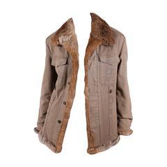 Philipp Plein Rabbit Lined Coat