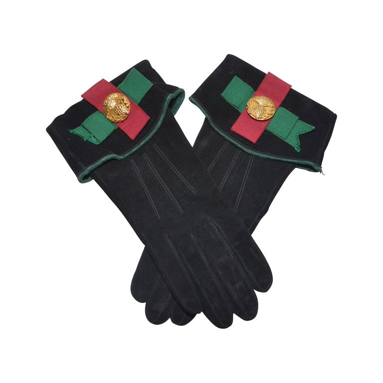 Yves Saint Laurent YSL Vintage Gloves