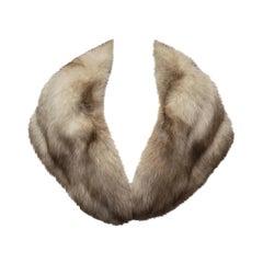 1950s Amber Fox Fur Wrap