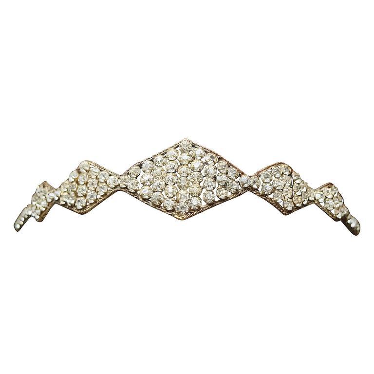 1920s Swarovski Crystal Headband
