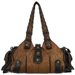 Chloé Woman Shoulder bag Silverado Brown Leather