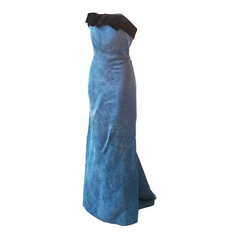 2007 Lanvin Long Dress NWOT