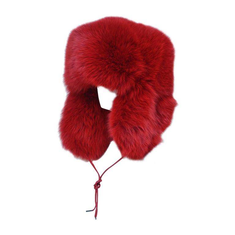 MARC JACOBS Fox Fur Hat Lil Wayne Wore In His Music Video For Sale