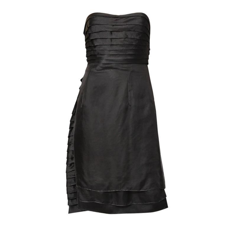 Dior Strapless Cocktail Dress
