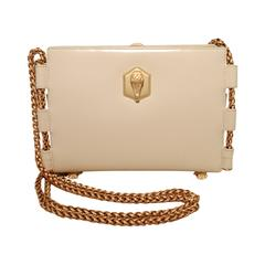 Barry Kieselstein-Cord Cream Leather Shoulder Bag