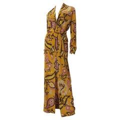 Gucci Silk Shirt Maxi Dress SS 2011