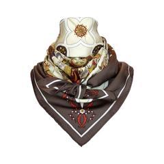 Beautiful Hermes Silk Scarf POESIE PERSANE Abadie 90 cm