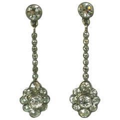 Delicate Edwardian Paste Earrings