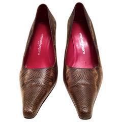 1980's Emanuel Ungaro Shoes - Original Box
