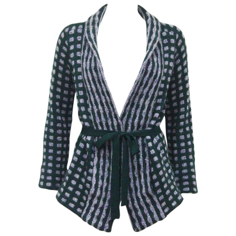Missoni knitted wool cardigan, c. 1970s 1