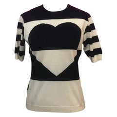 Moschino Cheap Chic Wool Heart Sweater