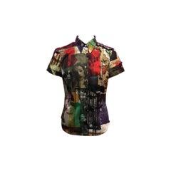 Moschino Jeans Rome Ladies Short Sleeve Shirt