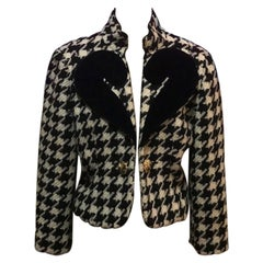 Moschino Cheap Chic Wool Question Mark Jacket