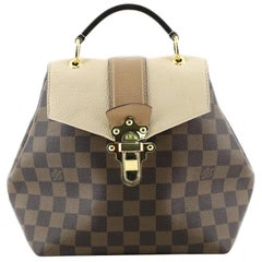 Louis Vuitton Clapton Backpack Damier and Leather