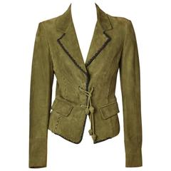 Tom Ford For YSL Suede Jacket