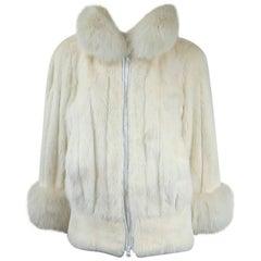 Christian Dior Mink & Fox Jacket Christian Dior Fourrure Coat