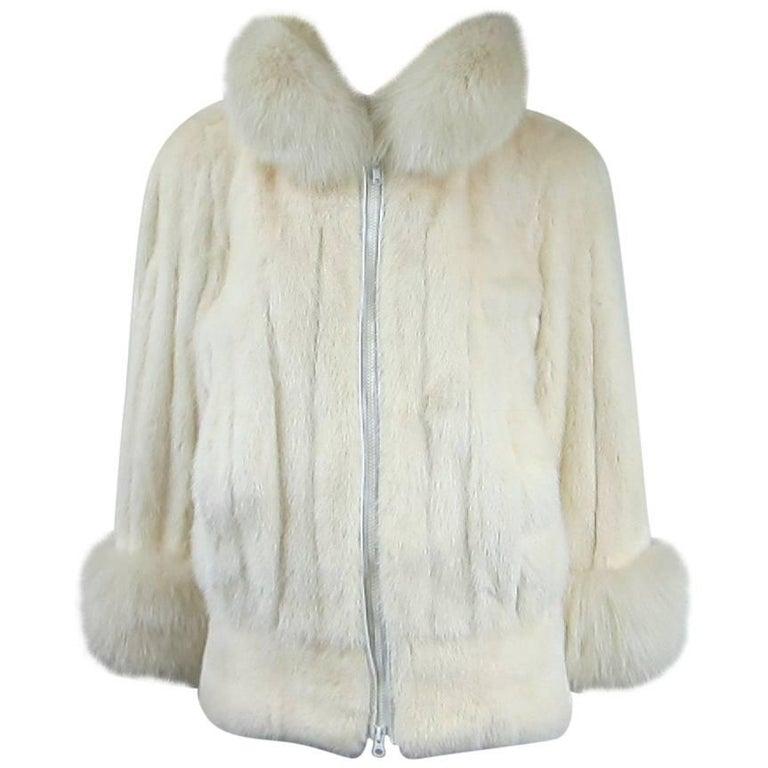 Christian Dior Mink & Fox Jacket Christian Dior Fourrure Coat  1