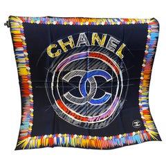 A Chanel Vintage Silk Foulard