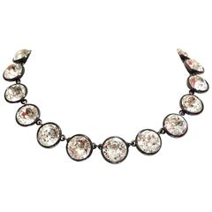 1960s Yves Saint Laurent YSL Choker Necklace