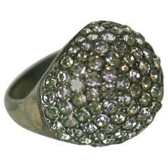 Attractive French Paste Bombe Deco Ring