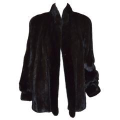 Revillon Brown Mink Coat