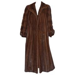 Revillon Full Length Mink Coat