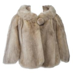 Honey Mink Capelet