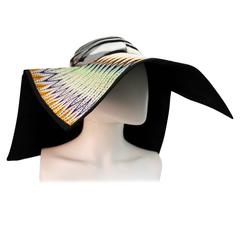Missoni SS 2011 Square Sun Hat