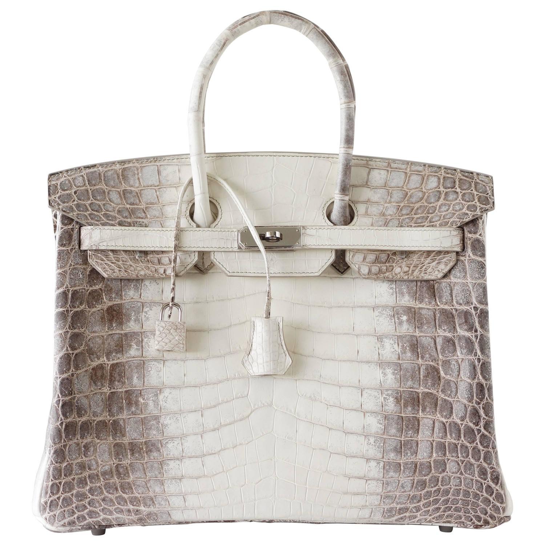 www birkin bags - HERMES BIRKIN 35 Bag Blanc Himalaya Exquisite Skin Limited Edition ...