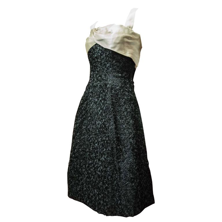 1950s Elizabeth Arden Cocktail Dress