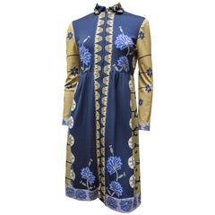 1970s Paganne Day Dress