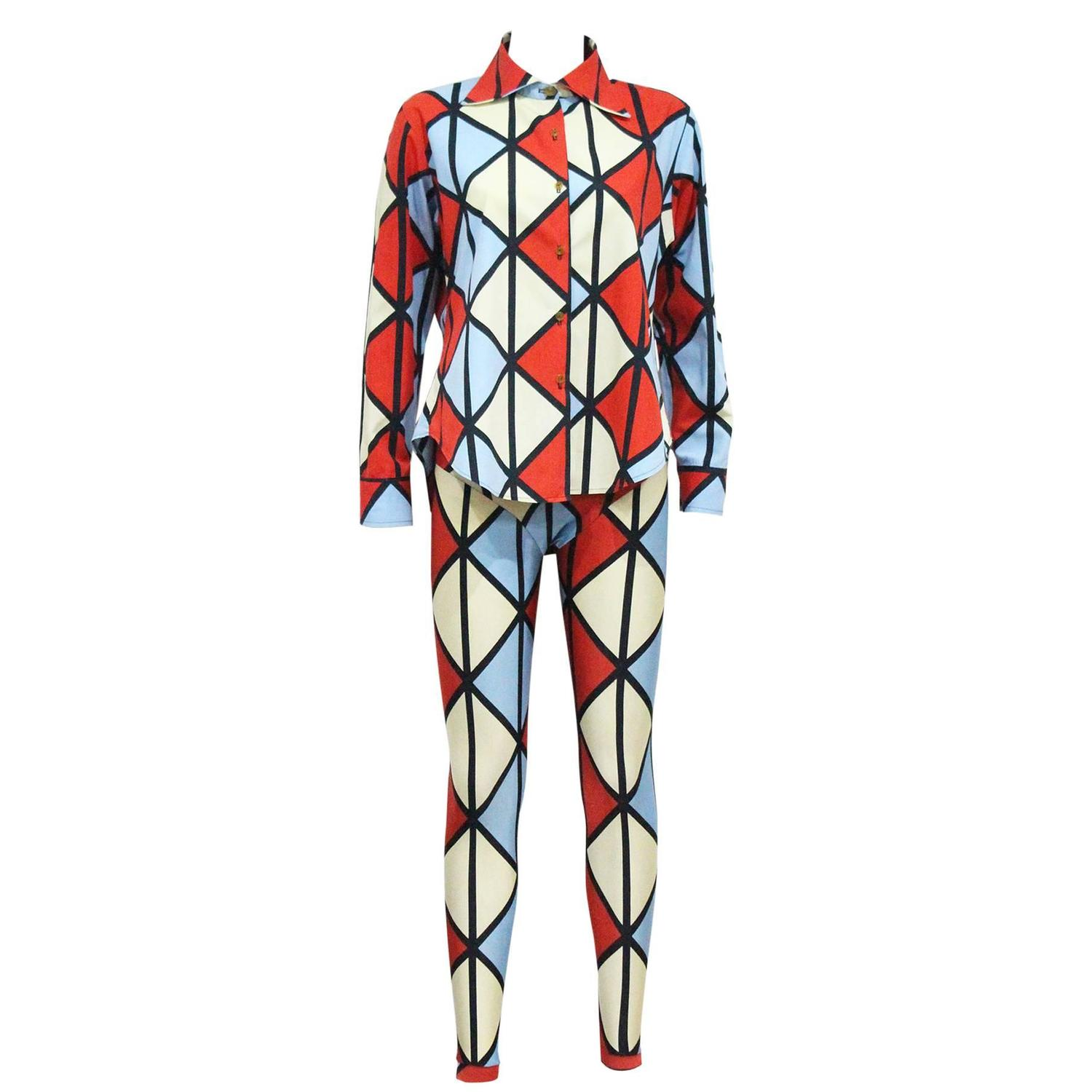Vivienne westwood harlequin 39 voyage to cythera 39 ensemble for Ensemble sejour