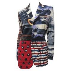 Jean Paul Gaultier Patchwork Color Block Jacket