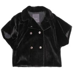 Fendi Black Mink Jacket