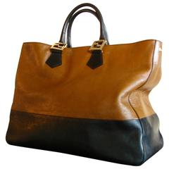 Fendi XL Colorblock Leather Twins Tote Bag 2012 Collection