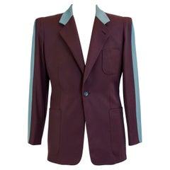 Jean-Paul Gaultier jacket model 1057 with Cocteau-type effigy Circa 1995
