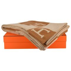 Hermes Avalon Blanket Avalon Ecru Camel 2015