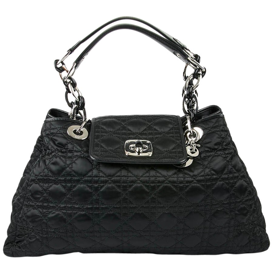 DIOR Black Cannage Bag