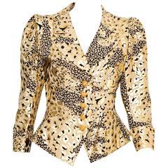 1992s Iconic Yves Saint Laurent Jacket