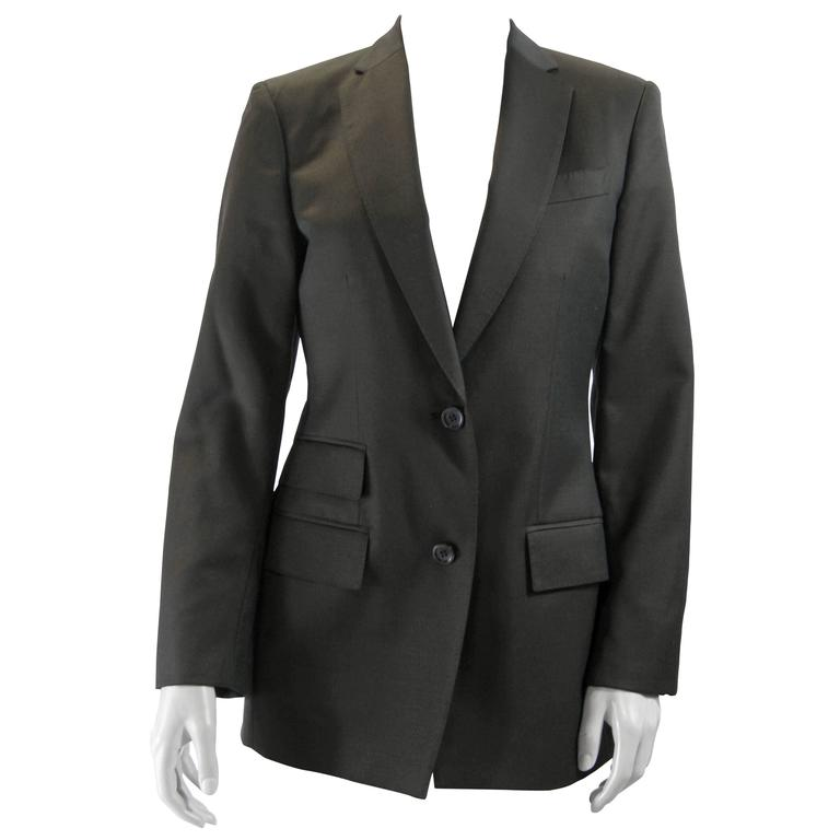 Gucci Brown Tailored Blazer