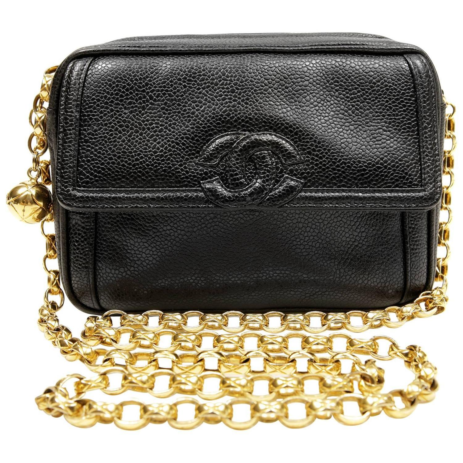 4447abce1db6 Chanel Black Caviar Camera Bag | Stanford Center for Opportunity ...