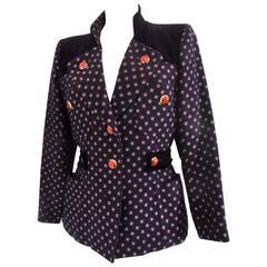 1970s Yves Saint Laurent Rive Gauche Jacket