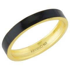 Enamel Ring (Black)
