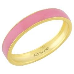Enamel Ring (Pink)