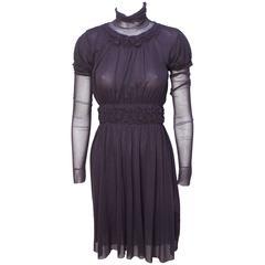 Jean Paul Gaultier Layered Mesh Dress