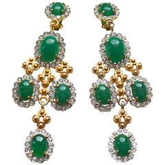 Kenneth Jay Lane Large Chandelier Earrings
