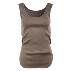 Undercover Mocha Fitted Tank Top