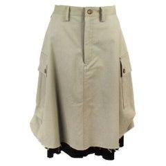 Yohji Yamamoto Cargo Skirt